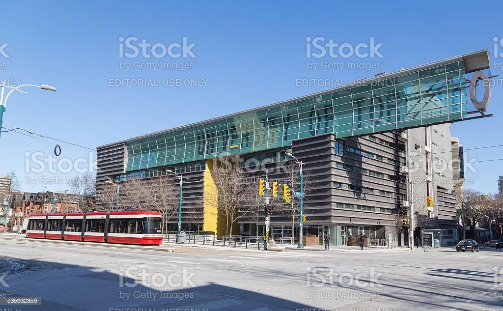 University of Toronto Sign along Spadina stock photo