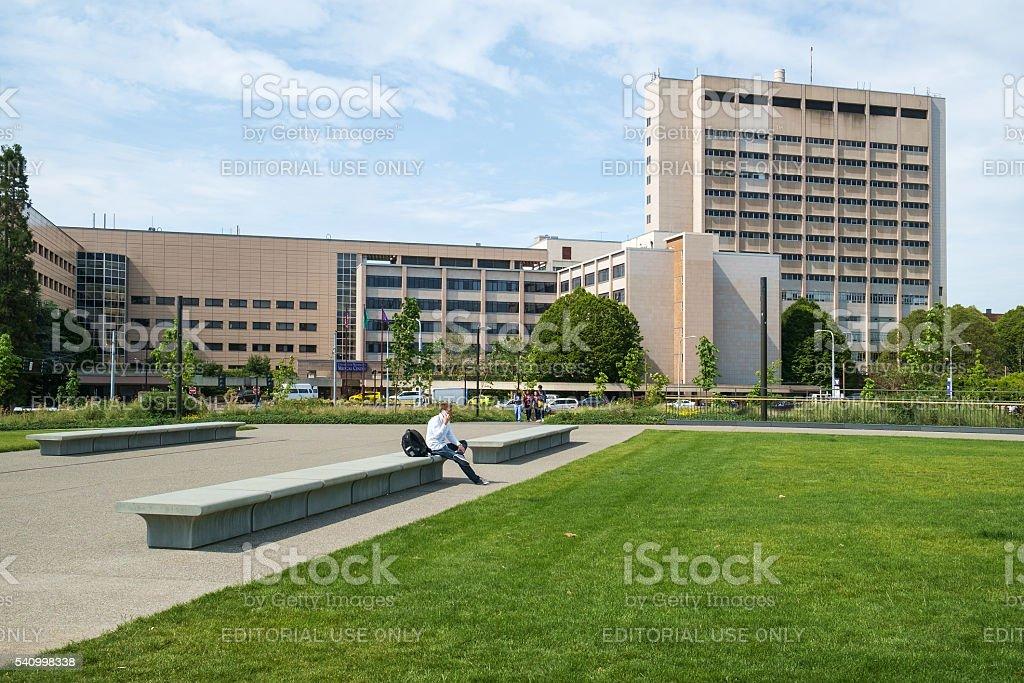 University of Washington Medical Center stock photo