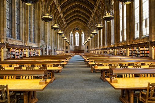 University Of Washington Suzzallo Library Stock Photo - Download Image Now