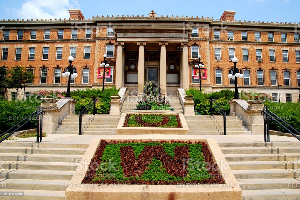 University of Wisconsin Madison Agriculture Building stock photo