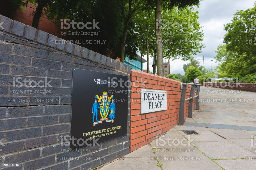 University of Wolverhampton stock photo