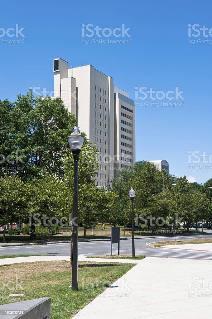 University Research Center stock photo