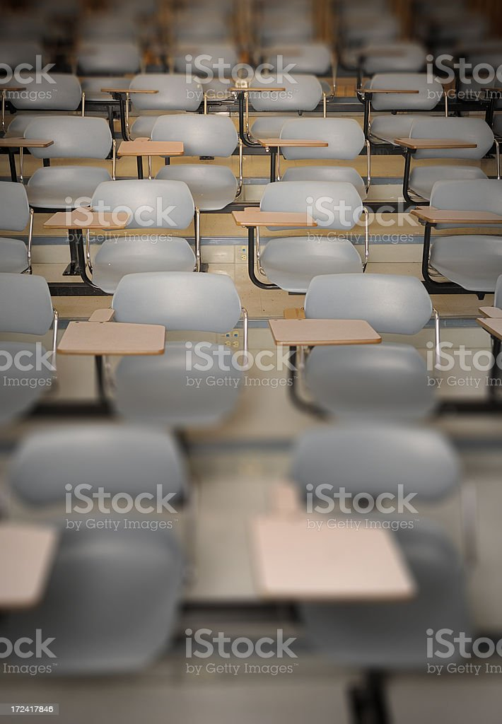 University Seating stock photo