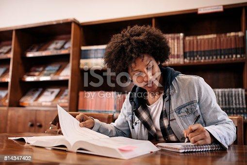 istock University student taking notes 814347402