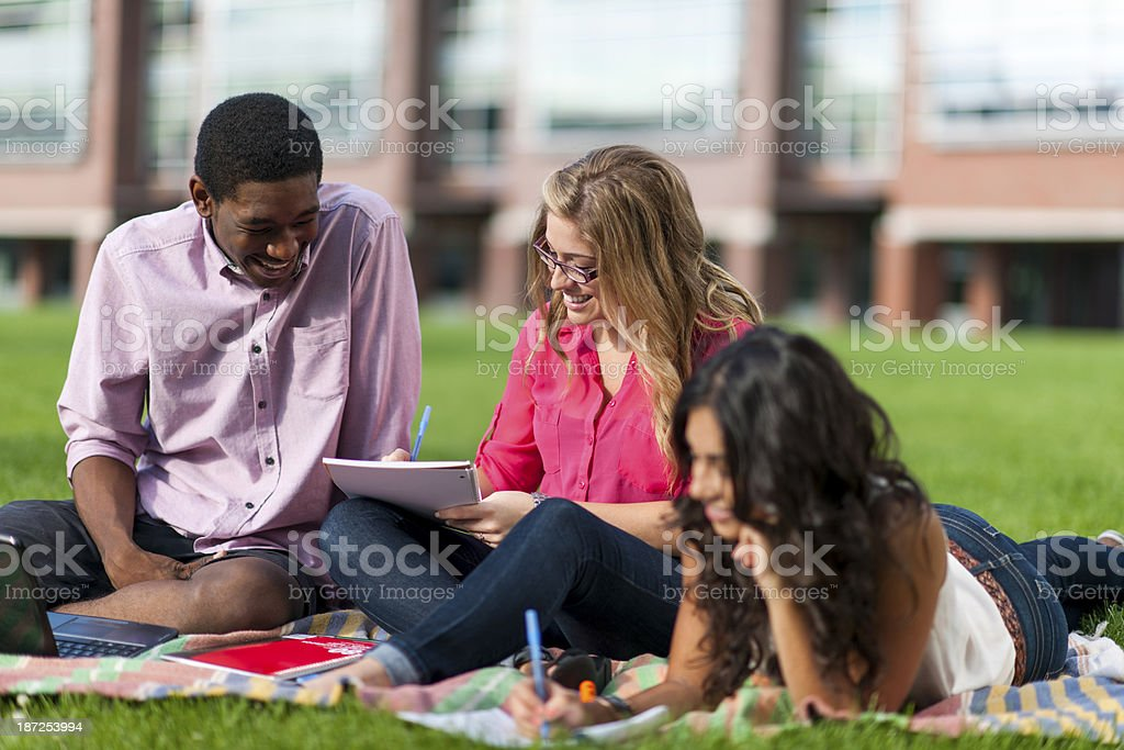 University Students royalty-free stock photo