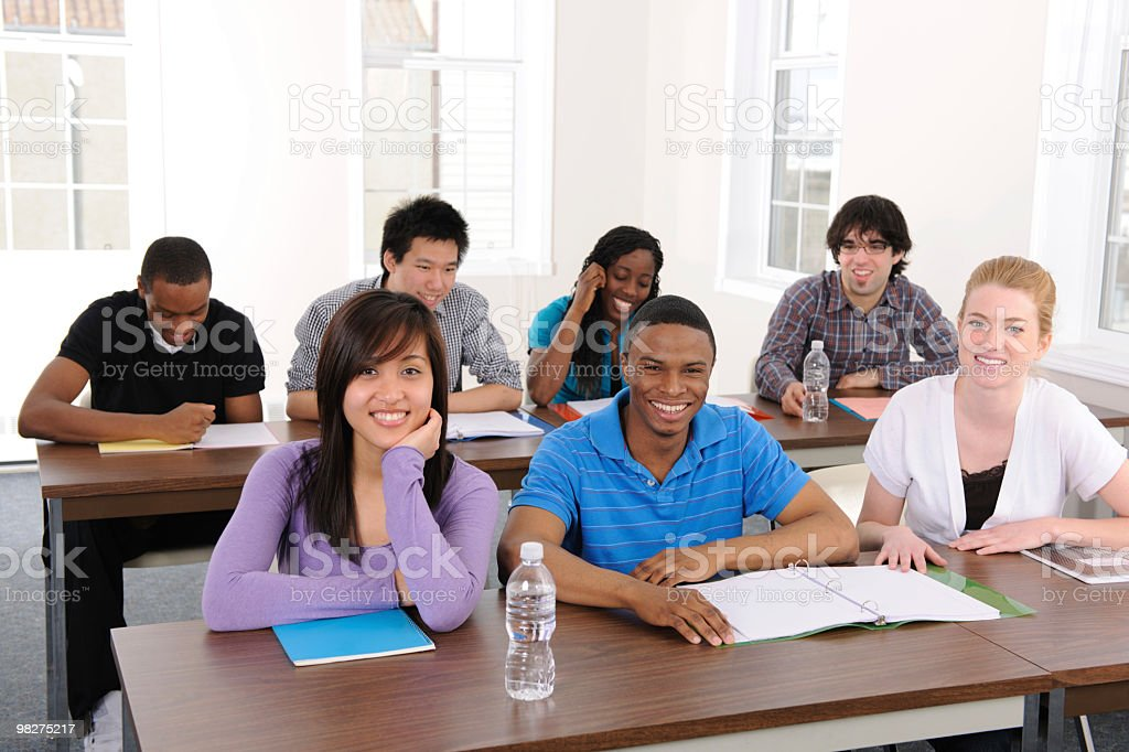 University Students royalty-free stock photo