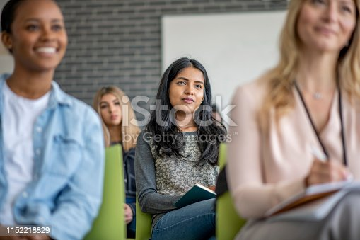 istock University Students Sitting in a Lecture 1152218829
