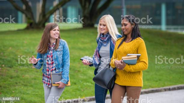 University students walking in campus picture id646863114?b=1&k=6&m=646863114&s=612x612&h=z9tsho6g9 3usrzihbotjpgqkt9hw2t3sc ayn8uqse=