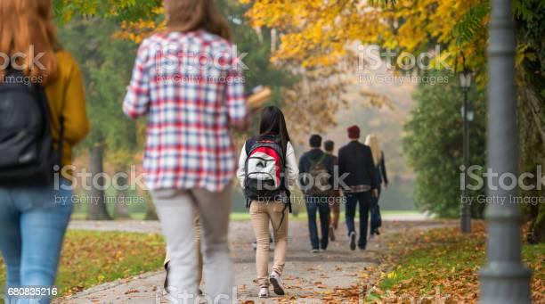 University students walking in campus picture id680835216?b=1&k=6&m=680835216&s=612x612&h=pub4vwrttkmg2evvtry1qozmdpleq1hbstm6qib4a74=