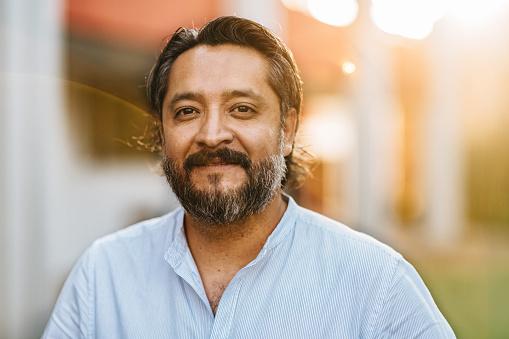 Mexican University Teacher Portrait