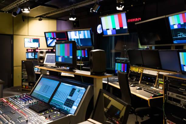 Eine Universität TV-Studio – Foto