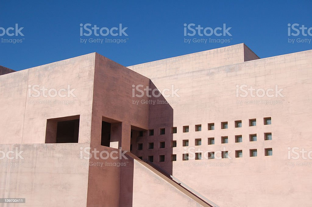 universtiy art museum stock photo
