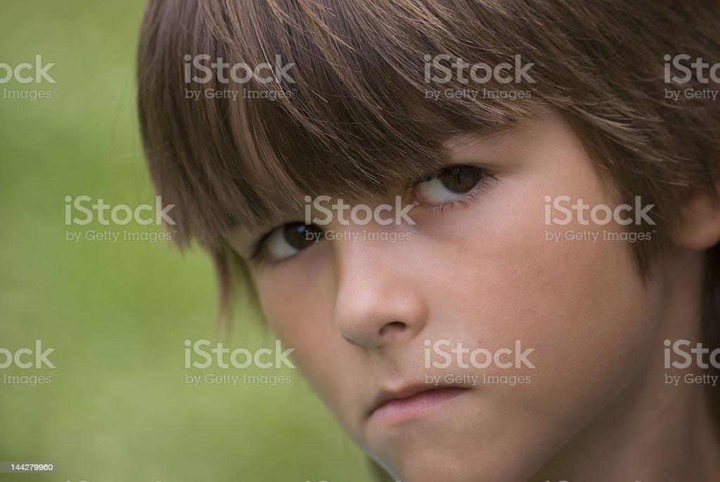 unjury boy royalty-free stock photo