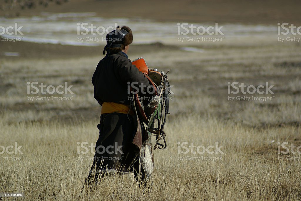 unknow nomad stock photo