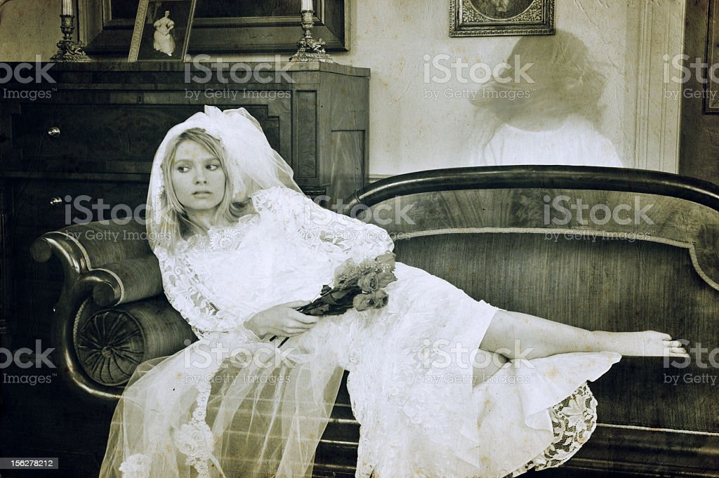 Unknowing royalty-free stock photo