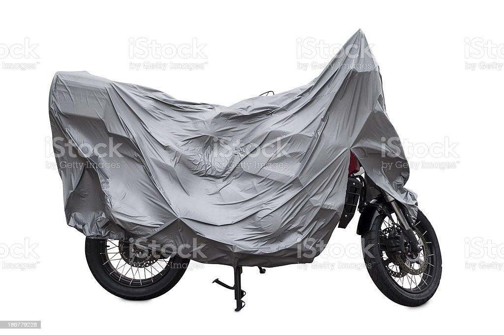 Unknown motorbike royalty-free stock photo