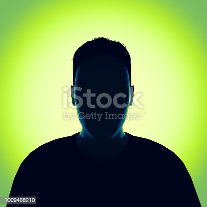 istock Unknown person. 3d render 1009468210