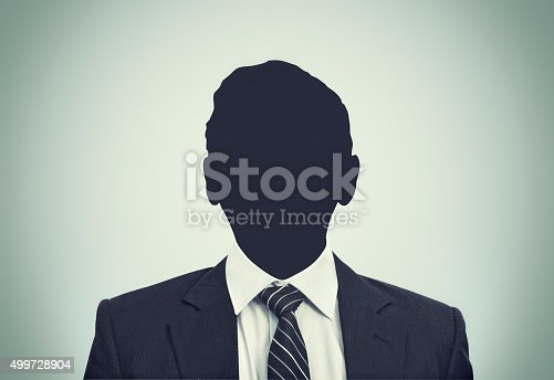 istock Unknown person silhouette 499728904