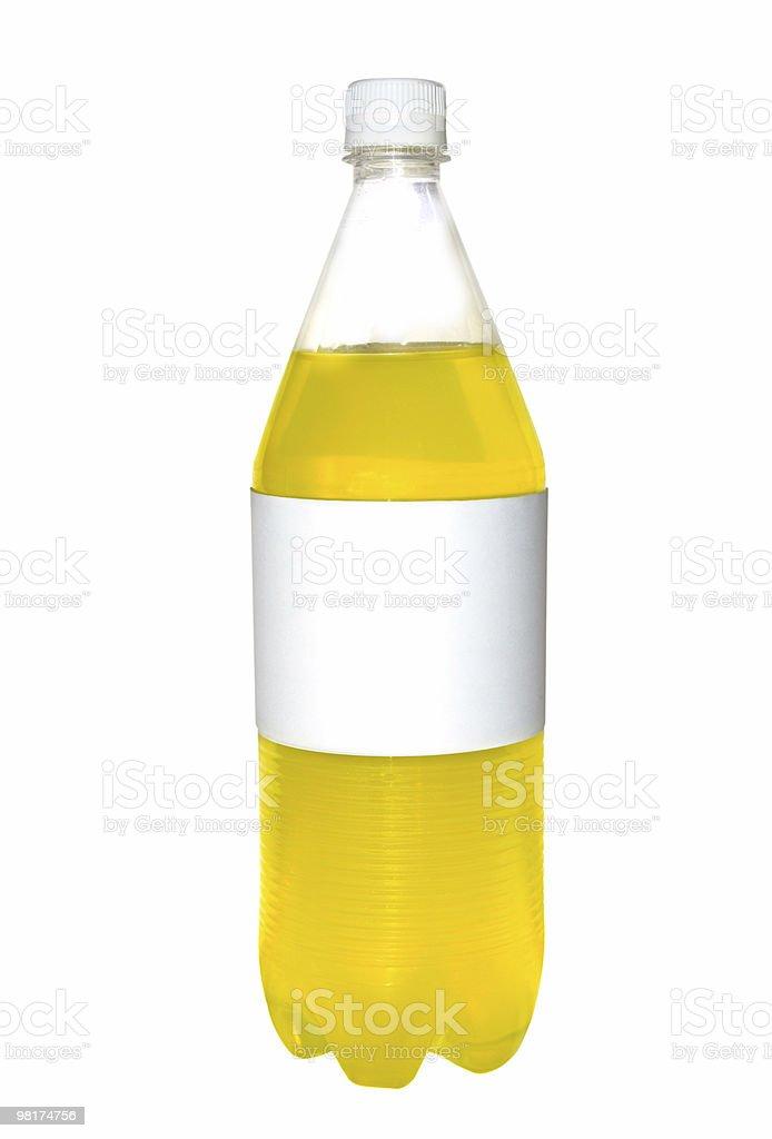 Unlabeled Bottle royalty-free stock photo