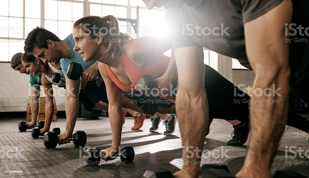 Unleash the beast stock photo