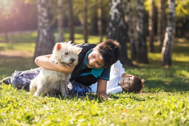 unbegrenzte liebe - kinder picknick spiele stock-fotos und bilder