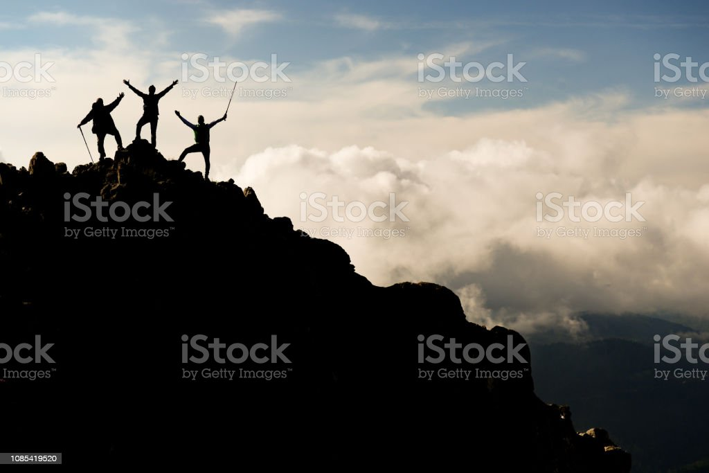 unlimited wealth, peaceful and enthusiastic stock photo