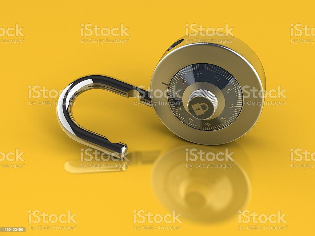 Unlocked stock photo