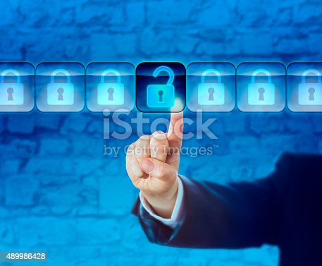 533557042 istock photo Unlocking An Information Packet In A Data Stream 489986428