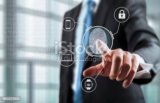 Unlocking devices with fingerprint scan using biometrics
