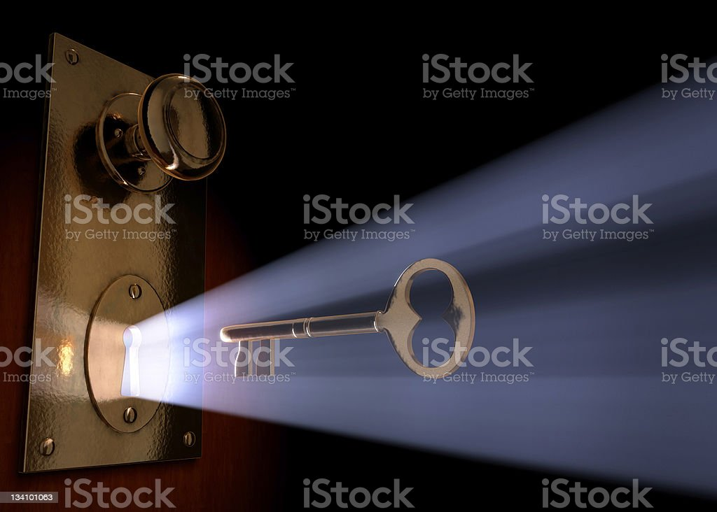 Unlocking Your Dreams stock photo