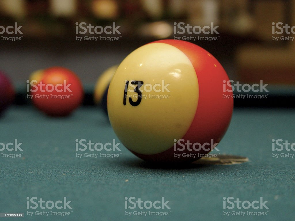unlucky 13 royalty-free stock photo