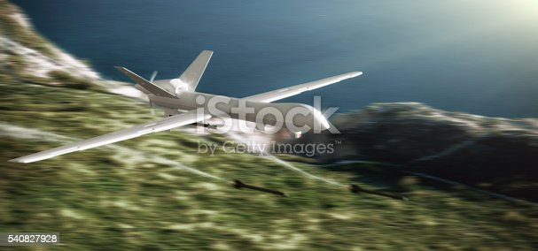 535194869 istock photo UAV Unmanned Aerial Vehicle (drone) attack 540827928