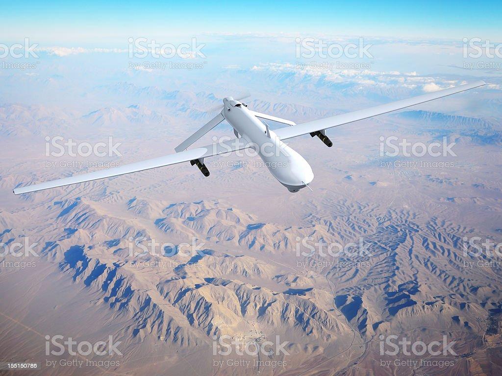 Luftaufnahme Fahrzeug (UAV) mit Selbstbedienung (nicht besetzt – Foto