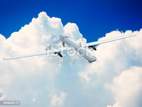 533534481 istock photo Unmanned Aerial Vehicle (UAV) 184646172