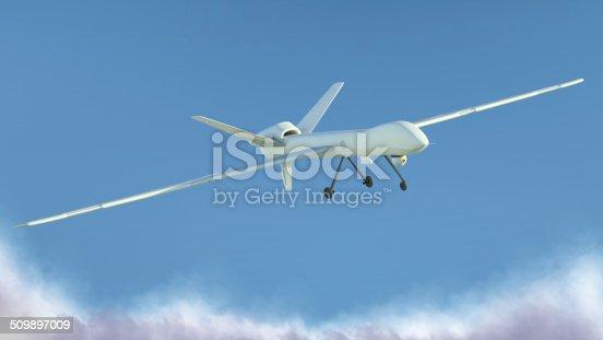 istock UAV Unmanned Aerial Vehicle 509897009