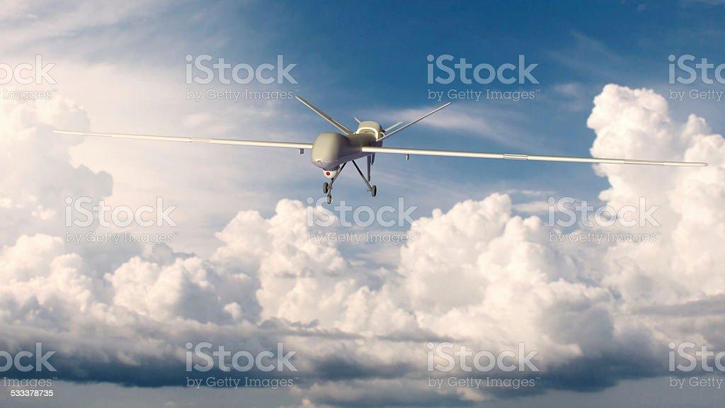 Luftaufnahme Fahrzeug UAV mit Selbstbedienung (nicht besetzt) Lizenzfreies stock-foto