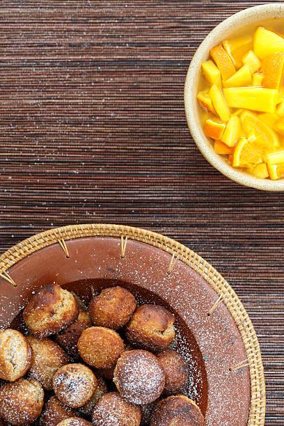unniyappam-bolinhos de massa de banana - foto de acervo
