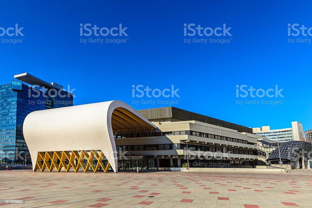 UNO-City Complex, Vienna stock photo