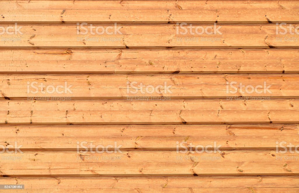 Unpainted wooden wall texture stock photo