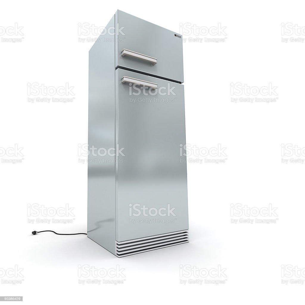 Unplugged refrigerator royalty-free stock photo