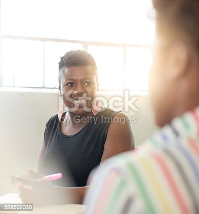 598064836 istock photo Unposed group of creative business people in an open concept 528502030