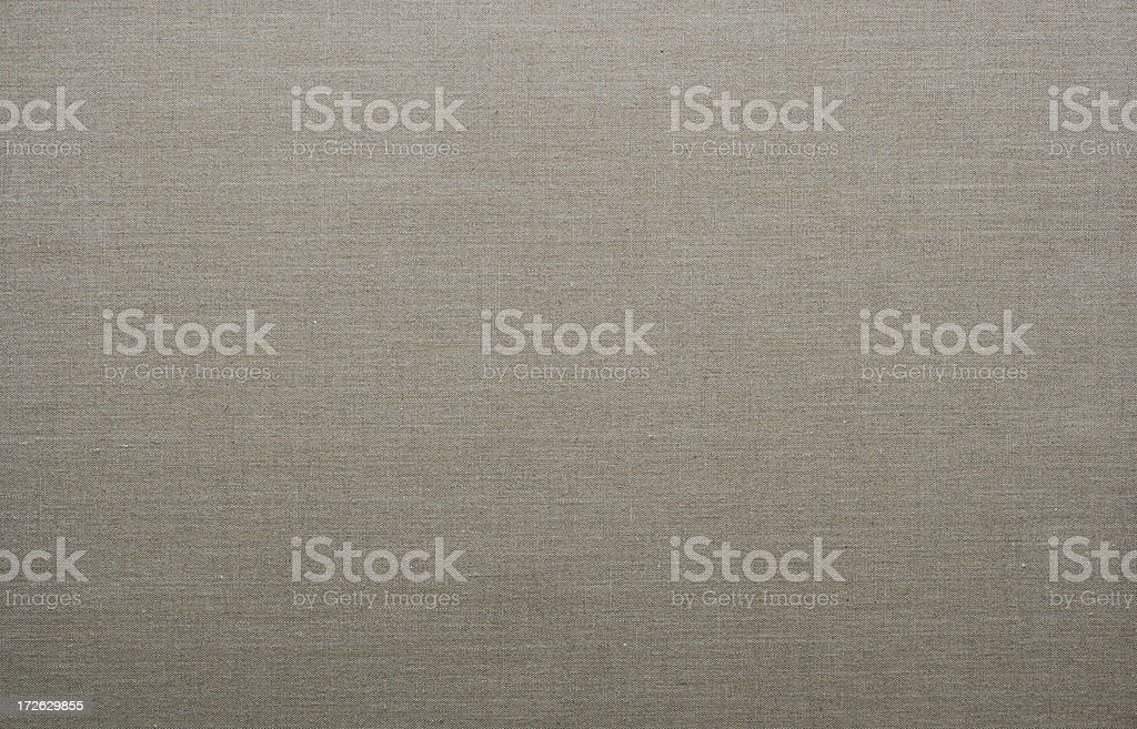 Unprimed linen canvas for painting royalty-free stock photo