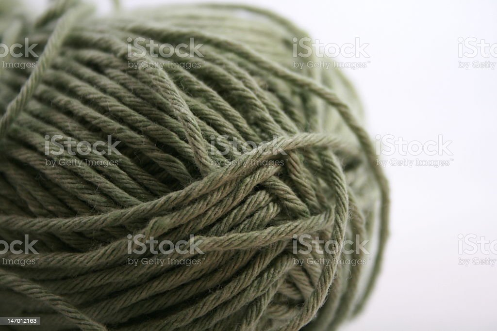 Unraveled stock photo