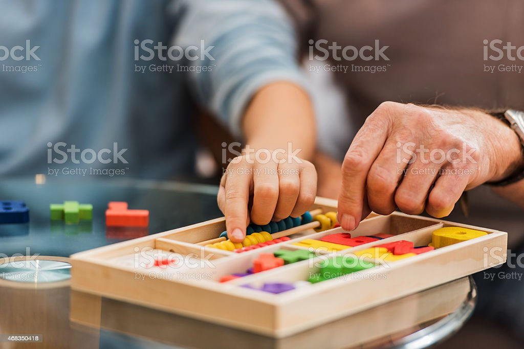 Unrecognizable people playing leisure game. royalty-free stock photo