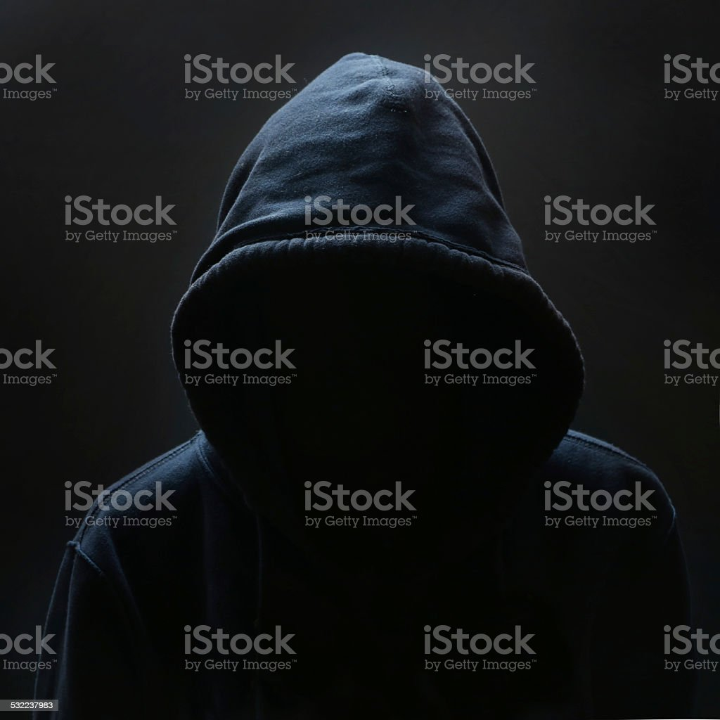 Unrecognizable person stock photo