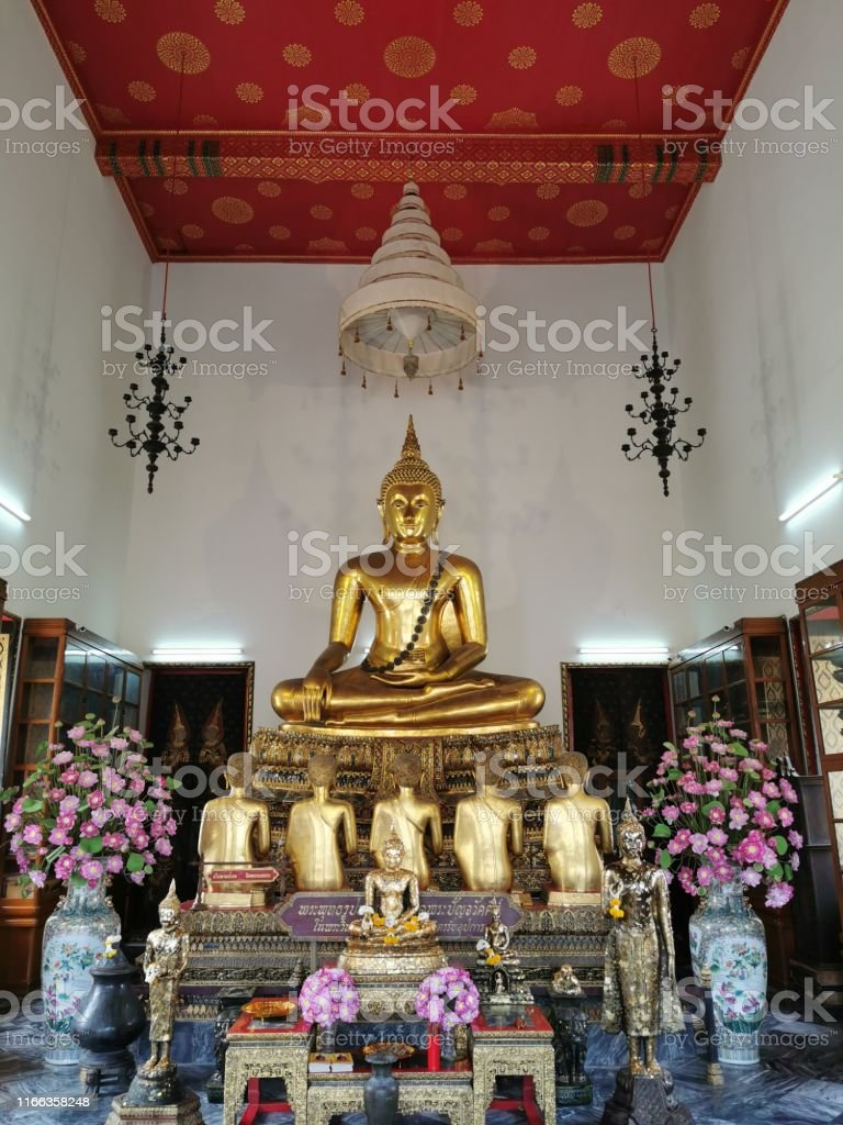 Unretouched Thai Royal Buddha image