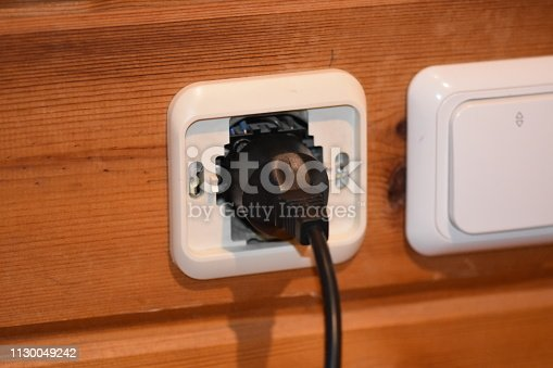 istock Unsafe electrical outlet 1130049242