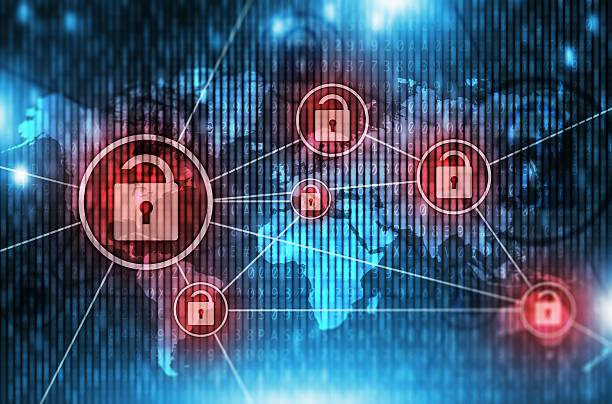 unsafe global network - computer crime stock pictures, royalty-free photos & images