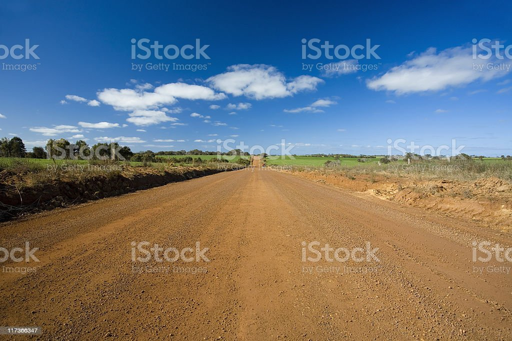 Unsealed road royalty-free stock photo