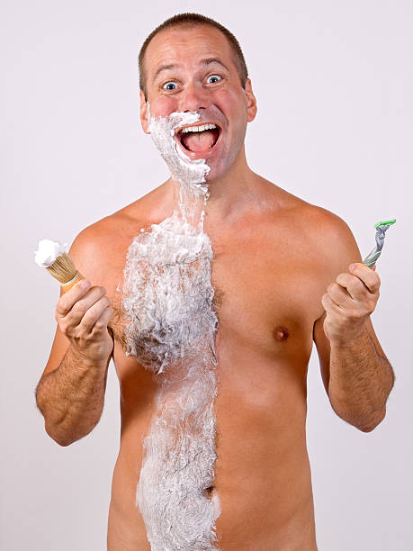 Shaved Naked Men Stock Photos, Pictures & Royalty-Free